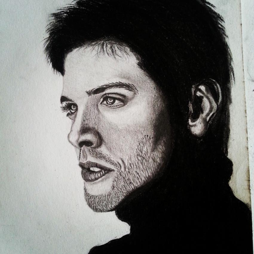 Jensen Ackles by -Wolfenstein-